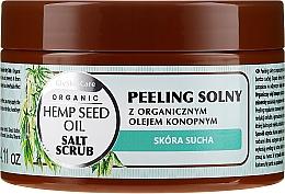 Parfüm, Parfüméria, kozmetikum Só peeling organikus kender olajjal - GlySkinCare Hemp Seed Oil Salt Scrub