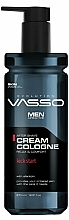 Parfüm, Parfüméria, kozmetikum Krém-kölni borotválkozás után - Vasso Professional Men After Shave Cream Cologne Kick Start