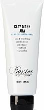 Parfüm, Parfüméria, kozmetikum Tisztító agyag maszk - Baxter of California Clay Mask AHA