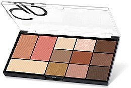 Parfüm, Parfüméria, kozmetikum Arc- és szemhéjfesték paletta - Golden Rose City Style Face & Eye Palette