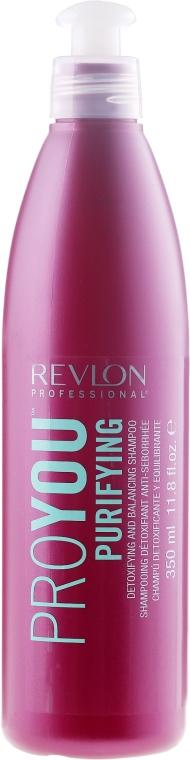 Tisztító sampon - Revlon Professional Pro You Purifying Shampoo — fotó N1