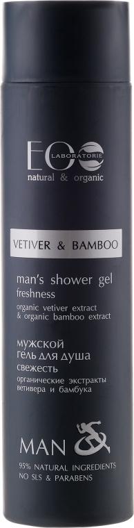 "Férfi tusfürdő ""Vetiver és bambusz"" - ECO Laboratorie Man's Shower Gel Freshness"