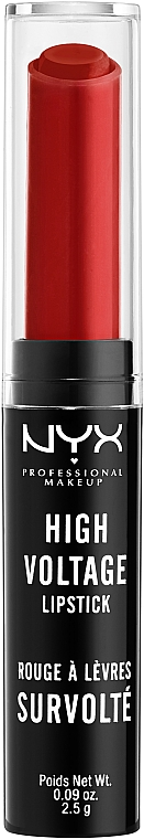Ajakrúzs - NYX Professional Makeup High Voltage Lipstick