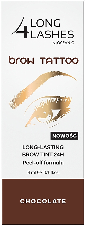 Tartós szemöldök tint - Long4Lashes Brow Tattoo Long Lasting Brow Tint 24h