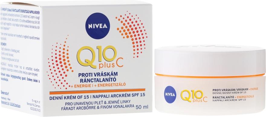 Ránctalanító krém - Nivea Q10 Plus Energizing Anti-Wrinkle..