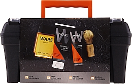 Parfüm, Parfüméria, kozmetikum Szett - Wars (sh/lot/90ml + sh/cr/65ml + ash/balm/100ml + brush)