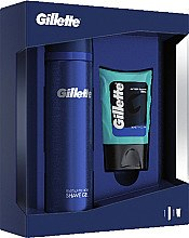 Parfüm, Parfüméria, kozmetikum Szett - Gillette (ash/bal/75ml + sh/gel/200ml)