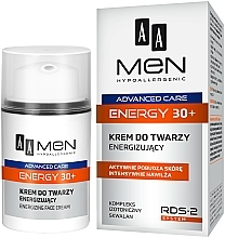 Parfüm, Parfüméria, kozmetikum Arckrém - AA Men Advanced Care Energy 30+ Face Cream Energizing
