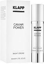 """Parfüm, Parfüméria, kozmetikum Éjszakai arckrém """"Ikra energia"""" - KlappCaviar Power Night Cream"""