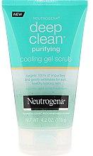 Parfüm, Parfüméria, kozmetikum Gél arcradír - Neutrogena Skin Detox Cooling Gel Scrub