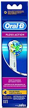 Parfüm, Parfüméria, kozmetikum Elektromos fogkefe pótfej Floss Action EB 25, 4 db - Oral-B