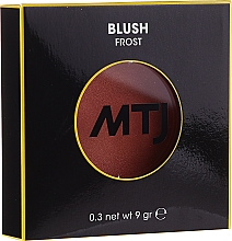 Parfüm, Parfüméria, kozmetikum Pirosító - MTJ Cosmetics Frost Blush