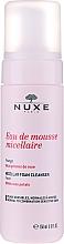 Parfüm, Parfüméria, kozmetikum Micellás arctisztító hab rózsaszirmokkal - Nuxe Micellar Foam Cleanser With Rose Petals