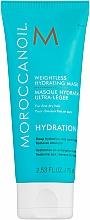 Parfüm, Parfüméria, kozmetikum Hidratáló maszk vékonyszálú hajra - Moroccanoil Weightless Hydrating Mask Moroccanoil