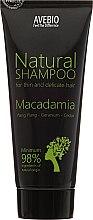 "Parfüm, Parfüméria, kozmetikum Hajsampon ""Macadamia"" - Avebio Natural Shampoo For Thin And Delicate Hair"