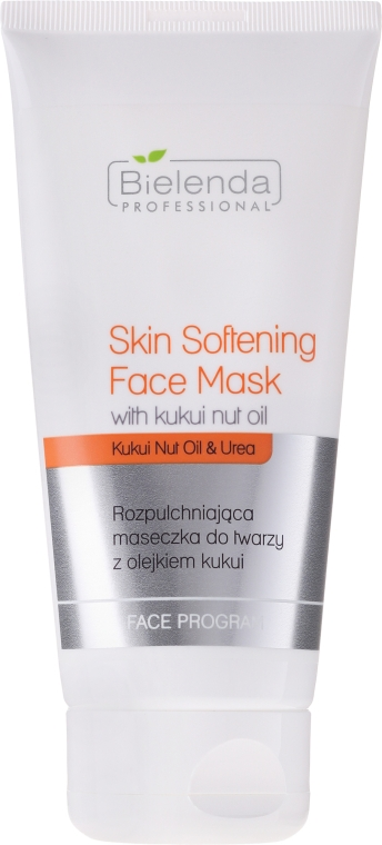 Arcmaszk kukui vajjal - Bielenda Professional Face Program Skin Softning Face Mask