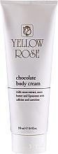 Parfüm, Parfüméria, kozmetikum Csokoládés tonizáló masszázskrém - Yellow Rose Chocolate Body Cream