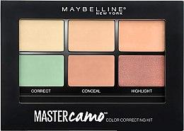Parfüm, Parfüméria, kozmetikum Többfunkciójú paletta korrektorral és highlighterrel - Maybelline Master Camo Color Correcting Concealer Kit