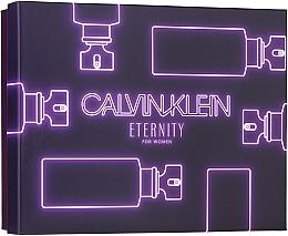 Parfüm, Parfüméria, kozmetikum Calvin Klein Eternity For Woman - Szett (edp/50ml + sh/gel/100ml + b/l/100ml)