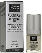 Parfüm, Parfüméria, kozmetikum Szem és ajakkörnyék gél - MartiDerm Platinum Expression Gel