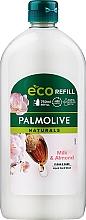 """Parfüm, Parfüméria, kozmetikum Folyékony szappan Naturel """"Hidratáló tej és olíva"""" (utántöltő) - Palmolive Naturals Delicate Care Liquid Handwash Soap With Almond Milk"""