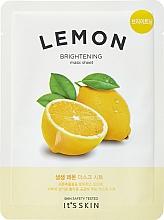 Parfüm, Parfüméria, kozmetikum Tonizáló anyagmaszk citrommal - It's Skin The Fresh Mask Sheet Lemon