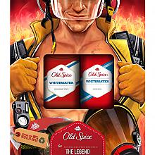 Parfüm, Parfüméria, kozmetikum Szett - Old Spice WhiteWater Fireman (deo/50g + sh/gel/250ml)