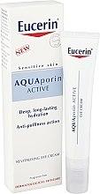 Parfüm, Parfüméria, kozmetikum Szemkörnyékápoló regeneráló krém - Eucerin AquaPorin Active Deep Long-lasting Hydration Revitalising Eye Cream