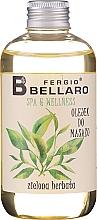 """Parfüm, Parfüméria, kozmetikum Masszázsolaj """"Zöld tea"""" - Fergio Bellaro Massage Oil Green Tea"""
