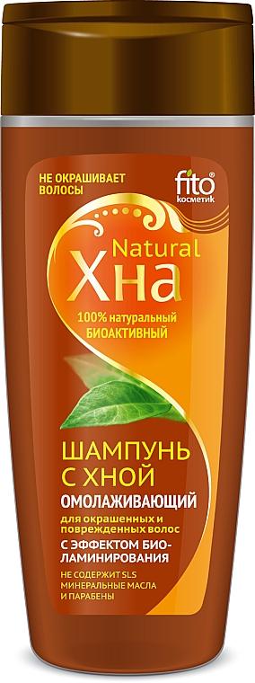 """Fiatalító hennás sampon """"Biolaminásiós hatás"""" - Fito Kozmetikum Henna Natural"""