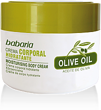 Parfüm, Parfüméria, kozmetikum Testkrém 100% olívaolaj - Babaria Olive Oil Nourishing Body Cream