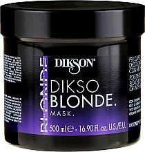 Parfüm, Parfüméria, kozmetikum Maszk kezelt, szőkített és melírozott hajra - Dikson Dikso Blonde Mask