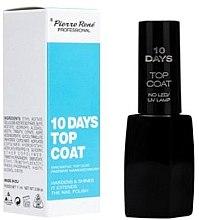 "Parfüm, Parfüméria, kozmetikum Körömlakk rögzítő ""10 Days"" - Pierre Rene Top Coat"