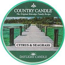 Parfüm, Parfüméria, kozmetikum Tea illatgyertya - Country Candle Citrus & Seagrass Daylight