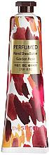 """Parfüm, Parfüméria, kozmetikum Tápláló kézkrém """"Rózsa"""" - The Saem Perfumed Garden Rose Hand Shea Butter"""