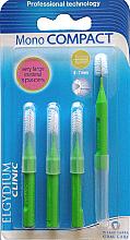Parfüm, Parfüméria, kozmetikum Fogköztisztító kefe, 4 db - Elgydium Clinic Monocompact Green