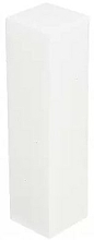 Parfüm, Parfüméria, kozmetikum Polírozó buffer, négy oldalas P-24, fehér - Deni Carte