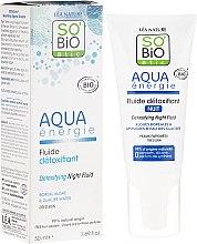 Parfüm, Parfüméria, kozmetikum Éjszakai arcfluid - So'Bio Etic Aqua Energie Detoxifying Fluid Night