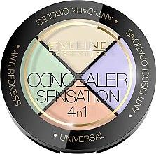 Parfüm, Parfüméria, kozmetikum Korrektor paletta - Eveline Cosmetics Concealer Sensation 4in1