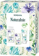 Parfüm, Parfüméria, kozmetikum Szett - Soraya Naturally (micellar water/400ml + f/gel/150ml + f/mask/17ml)