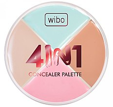 Parfüm, Parfüméria, kozmetikum Korrektor paletta - Wibo 4in1 Concealer Palette
