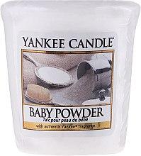 Parfüm, Parfüméria, kozmetikum Illatosított gyertya - Yankee Candle Scented Votive Baby Powder