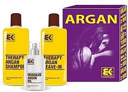 Parfüm, Parfüméria, kozmetikum Szett - Brazil Keratin Therapy Argan (shm/300ml + cond/300ml + oil/100ml)