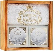 Parfüm, Parfüméria, kozmetikum Szett - Essencias De Portugal Senses Wooden Box (soap/2x200g + towel)