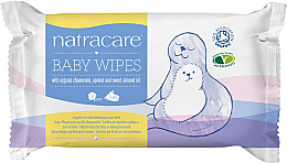 Parfüm, Parfüméria, kozmetikum Baba törlőkendő - Natracare Organic Cotton Baby Wipes