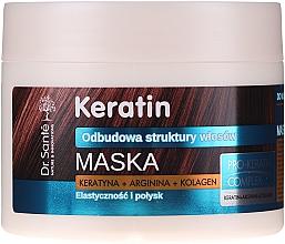 Parfüm, Parfüméria, kozmetikum Hajmaszk töredezett hajra - Dr. Sante Keratin Mask