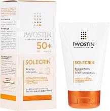 Parfüm, Parfüméria, kozmetikum Napvédő emulzió SPF50+ - Iwostin Solecrin Emulsion SPF50+