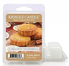 Parfüm, Parfüméria, kozmetikum Aroma viasz - Kringle Candle Cardamom Gingerbread Wax Melt