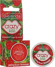 """Parfüm, Parfüméria, kozmetikum Ajak peeling """"Eper"""" - Bielenda Crazy Kiss Strawberry Sugar Lip Scrub"""