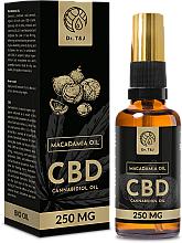 Parfüm, Parfüméria, kozmetikum Természetes makadámia olaj CBD 250mg - Dr. T&J Bio Oil